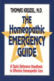 Kruzel, Dr T - The Homeopathic Emergency Guide