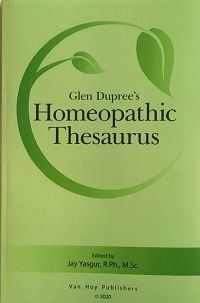 Dupree, G - Homeopathic Thesaurus