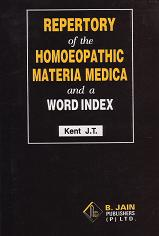 Kent, J T - Repertory, Word Index & MM