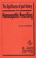 Foubister, D - The Significance of Past History in Homoeopathic Prescribing