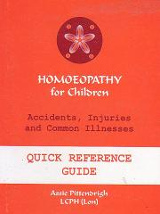 Pittendrigh, A - Homeopathy for Children